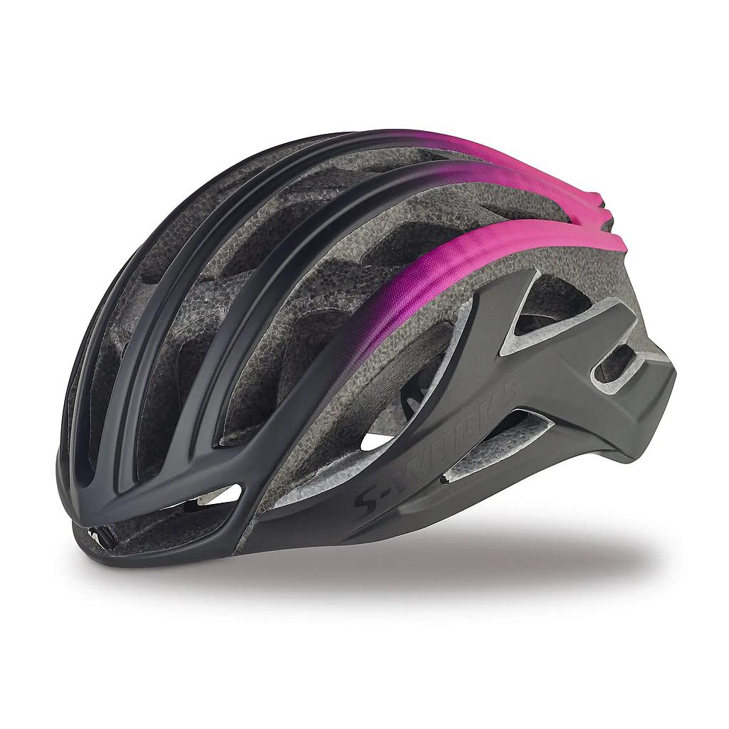 CASCO SPZ S-WORKS PREVAIL II HLMT CE BLK/PNK S